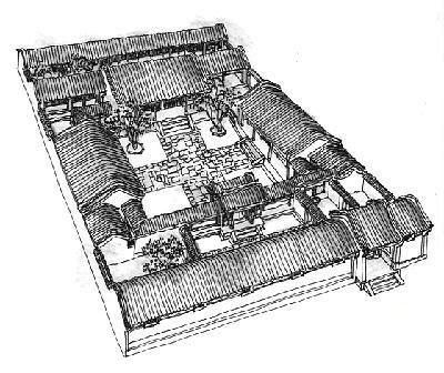 新农村大四合院设计图展示