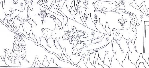 佛教装饰图案简笔画
