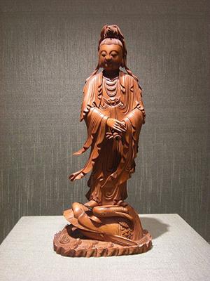 浙江是黄杨木雕传统重点产区
